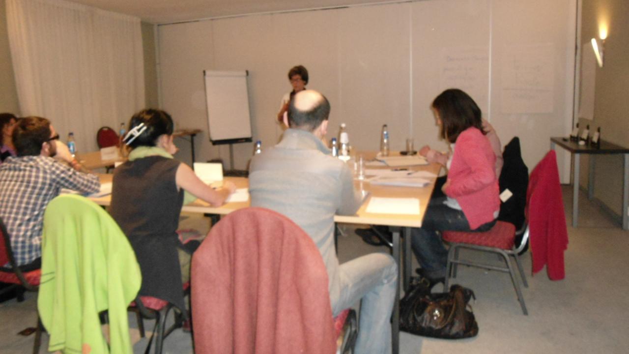 Seminaire Novembre 2011