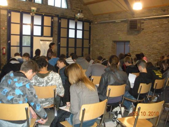 Retraite scolaire Lierneux octo. 10